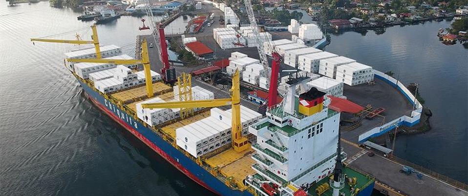 Chiquita invests in infrastructure and equipment in Puerto Almirante
