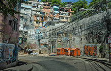 National Force patrolling Rio roads and slums