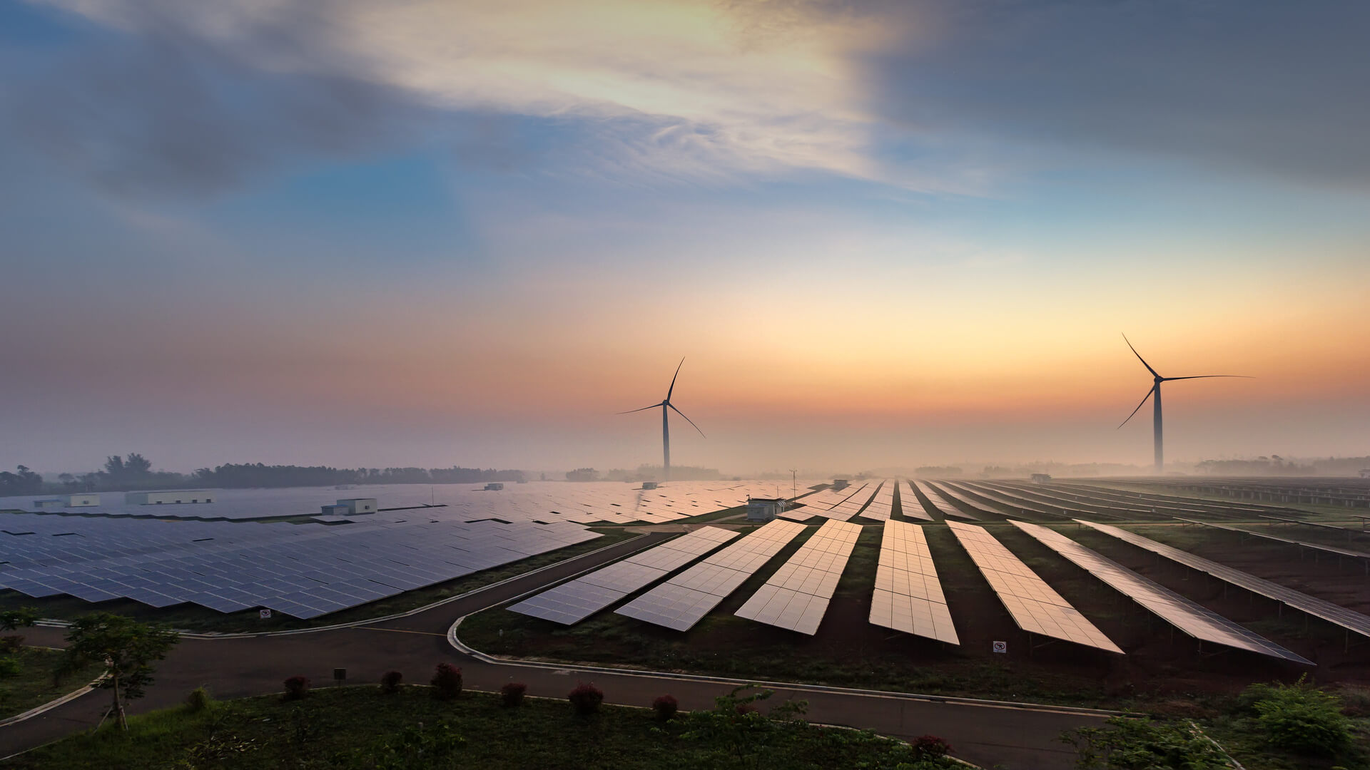 Solar plant power